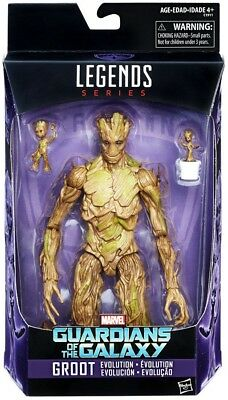 Guardians of the Galaxy Vol. 2 Marvel Legends Groot Evolution Action Figure