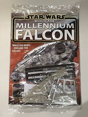 DEAGOSTINI STAR WARS BUILD THE MILLENNIUM FALCON Issue 65 - Hull & Frame