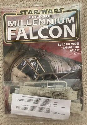 DEAGOSTINI STAR WARS BUILD THE MILLENNIUM FALCON Issue 77 -  Mandible Bits