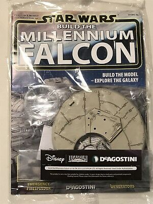 DEAGOSTINI STAR WARS BUILD THE MILLENNIUM FALCON Issue 46 - Ventral Gun
