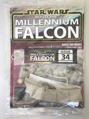 DEAGOSTINI STAR WARS BUILD THE MILLENNIUM FALCON Issue 34 - Hull & Engine Parts