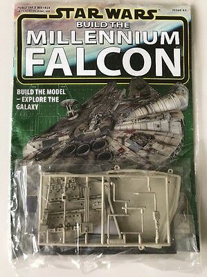 DEAGOSTINI STAR WARS BUILD THE MILLENNIUM FALCON Issue 63 - Hull Frame & Plating