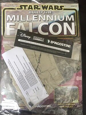 DEAGOSTINI STAR WARS BUILD THE MILLENNIUM FALCON Issue 24