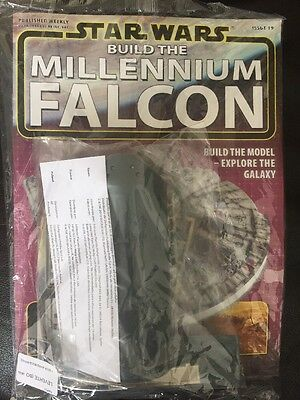 DEAGOSTINI STAR WARS BUILD THE MILLENNIUM FALCON Issue 40 - Hull, Cockpit, Gun