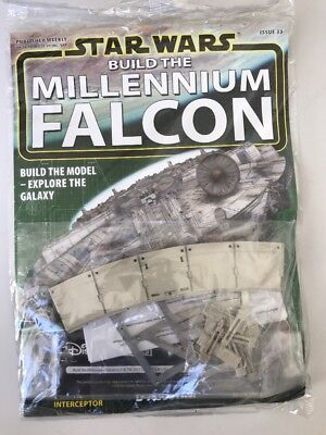 DEAGOSTINI STAR WARS BUILD THE MILLENNIUM FALCON Issue 33 - Hull & Engine Parts