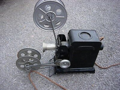 Antique Hand Operated German Film Projector Poss Pre War (Box & Instructions)