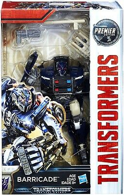 Transformers The Last Knight Premier Deluxe Barricade Action Figure