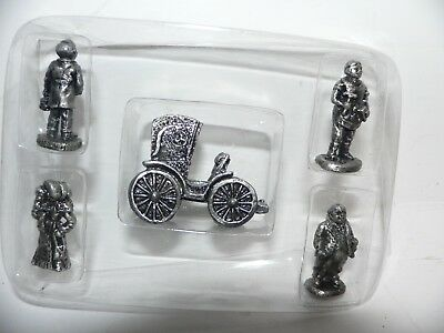 The Americana Collection 5  Miniature Accessory Set Ah-47 Pewter  Set  1994