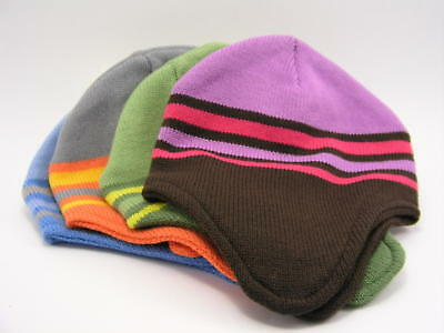 Ear Flap Hat Assorted Beanies Lot of 4
