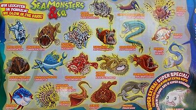 DeAgostini Seamonsters & Co Meeresmonster Aussuchen Nr. 2, 5, 6, 7, 16