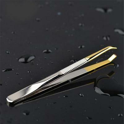 Premium Classic Tweezer  Stainless Steel Beauty Eyebrow Hair Plucker Tools C