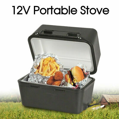 Portable Stove Oven Food Warmer for 4WD Car Truck Caravan Camping 3 minutes 12V