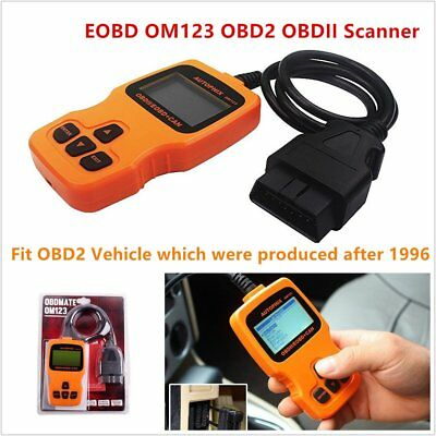 OM123 OBD2 Code Reader EOBD Car Auto Engine Fault Diagnostic Scan Tool Hand-held