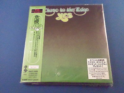 New YES Close To The Edge Japan Mini LP CD HDCD RMST Mint Sticker AMCY-6292