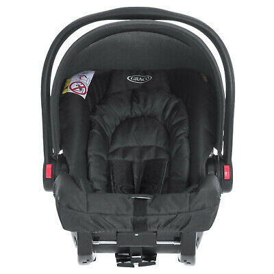 New Midnight Black Graco Snugride Group 0+ Car Seat Infant Carrier From Birth