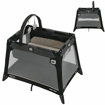 New Graco Pierce Nimble Nook Bassinette Crib Portable Compact Travel Cot