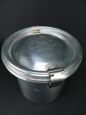 Vintage Communiy Coffee Fresh-O-Lator Metal Aluminum Storage Canister Container