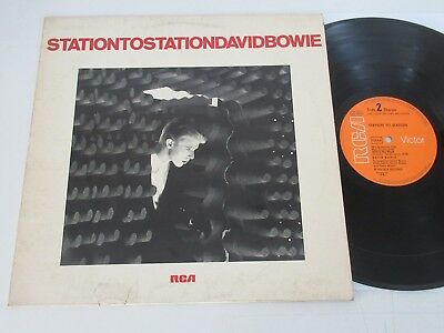David Bowie/station To Station  Lp 1976 Rca Victor Apl 1-1327 Ao