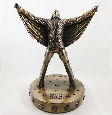 Elvis Statue Figurine Bronzed Figure Sculpture Official Licenced Ornament NEW IN