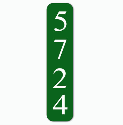 Personalized House Number Sign   Address