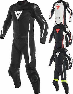 Denise Motorcycle Motorbike Armour Protection Racing 1&2 Pieces Leather Suits