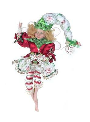 """Mark Roberts Collectible Peppermint Snowflakes Christmas Fairy - Large 18"""" #51-4"""