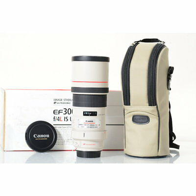 Canon Ef 300 mm F/4.0 Is L USM Objectif