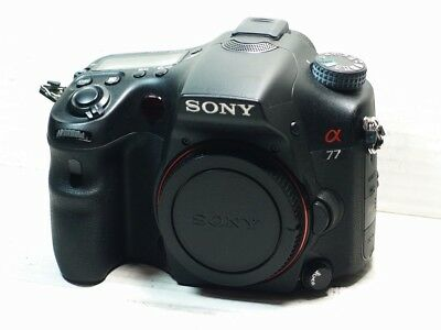 SONY Alpha A77 SLT 24MP Digital SLR Camera BODY ONLY  +BATTERY+CHARGER