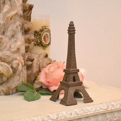 Shabby Cottage Chic Petite Paris Eiffel Tower Metal Home Decor French Style