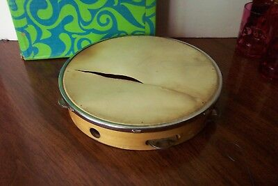 Vintage Made in Japan Tamborine Tambourine From The 70s