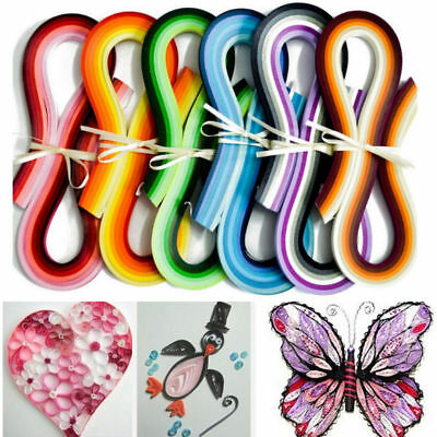 Gradient color NoteDIY Paper Quilling 36 Colors 540mm Length 3/5mm720 strips IN9
