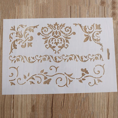 30 .5*20.5 cm Flower Layering Stencils Scrapbooking Embossing Paper Cards Craft