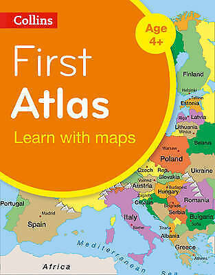 Collins First Atlas: Learn with maps by Collins Maps (Pbk, 2014) #117