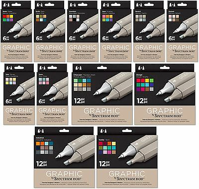 Crafters Companion - Spectrum Noir - GRAPHIC Pens New Product - Free UK p&p