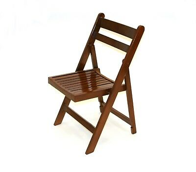 Brown Wooden Folding Chairs, Garden Chairs, Party Chairs, Wedding Chairs