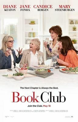 Book Club - original DS movie poster - 27x40 D/S Adv