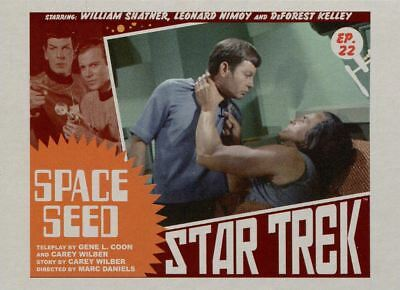 Star Trek TOS Captains Collection Lobby Chase Card #22 Space Seed