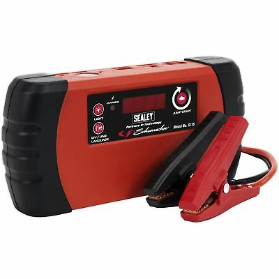 Sealey Schumacher 400A Lithium-Ion Jump Starter Power Pack 3L Petrol 2L Diesel