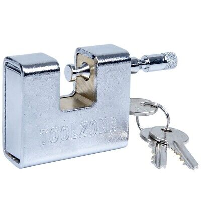 63mm HEAVY DUTY Shutter Padlock/Lock HIGH SECURITY Shipping Container/Warehouse