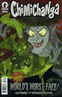 Chimichanga: The Sorrow of the World's Worst Face! #3 VF/NM; Dark Horse | save o