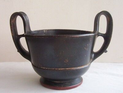 Rare Very Large Greek  Pottery Boeotian  Kantharos c. 5th - 4th century B.C.