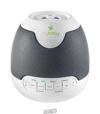 myBaby SoundSpa Lullaby Sounds & Projection, Plays 6 Sounds and Lullabies