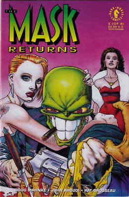 Mask Returns, The #2 VF/NM; Dark Horse | save on shipping - details inside
