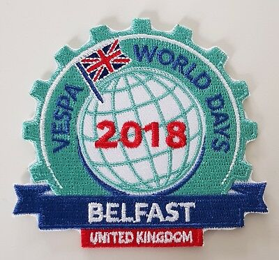 Vespa World Days Belfast 2018 Goody Bag Complete.