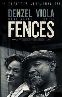 Fences - original DS movie poster - 27x40 D/S Style FINAL