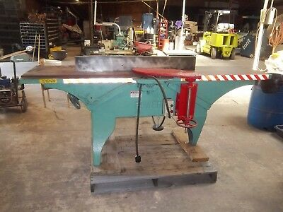 "L. Power 16 inch 3 knife ""3-toed"" Jointer"