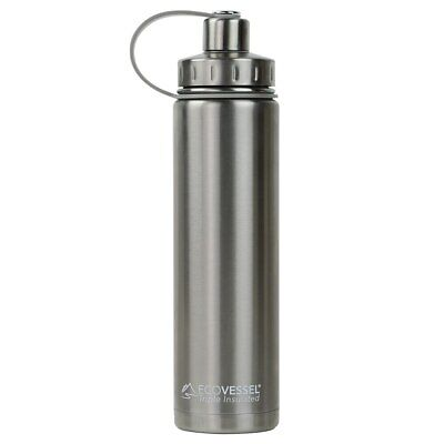 The BOULDER - Insulated Stainless Steel Water Bottle w/ Strainer - 700ml