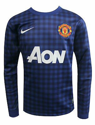 Nike Manchester United MUFC Youth Junior Football Jersey Top 479272 460 RW53