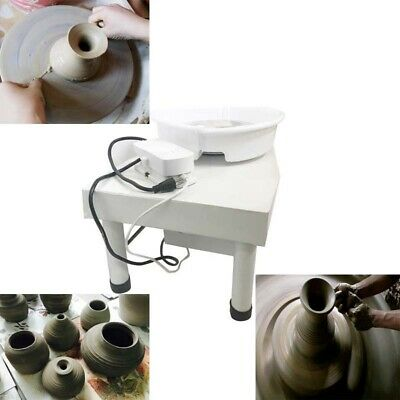 Table Top Pottery Wheel Ceramic Drawing Machine Home School Ceramic Equipment