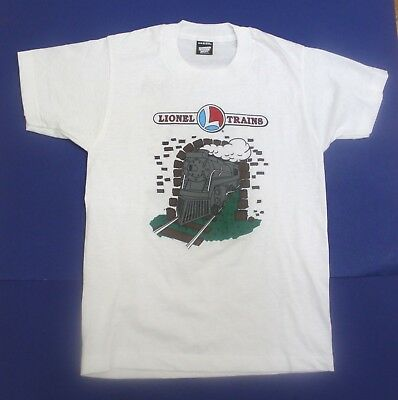 Lionel Trains Kid's T-Shirt Size 14-16 Brand New NOS Circa 1980s USA Made